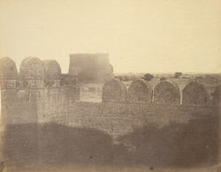 [View of the so-called ''Granary'' at Bijapur.]